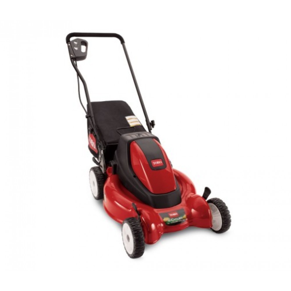 Toro Lawn Mower : Toro quot cordless e cycler battery powered walk behind