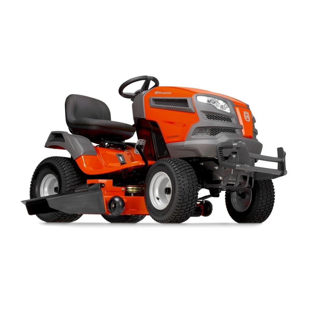 42 Husqvarna Garden Tractors : Husqvarna yth v ls quot riding lawn mower