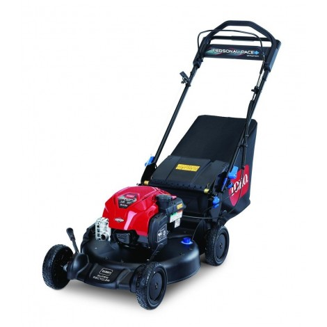 "Toro Super Recycler 21"" 163cc Briggs and Stratton Engine 21386 Personal Pace w / FLEX Handle Lawn Mower and Smart Stow"