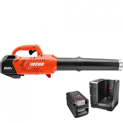 Echo 58V Brushless Battery Blower w / charger and battery (2.0 Ah) CPLB-58V2AH