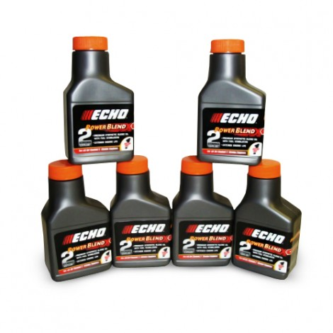 Echo 2 Stroke Power Blend Oil 6-Pack 1 Gallon Mix 645001