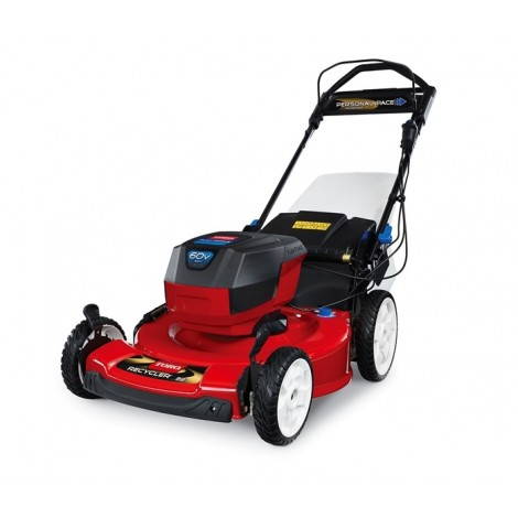 "Toro 60V Max Smartstow Personal Pace (22"") High Wheel Walk Mower W / Flex Force System - 20363"
