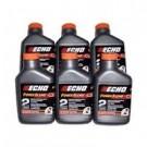 Echo 2 Stroke Power Blend Oil 6-Pack 2 Gallon Mix 6450002