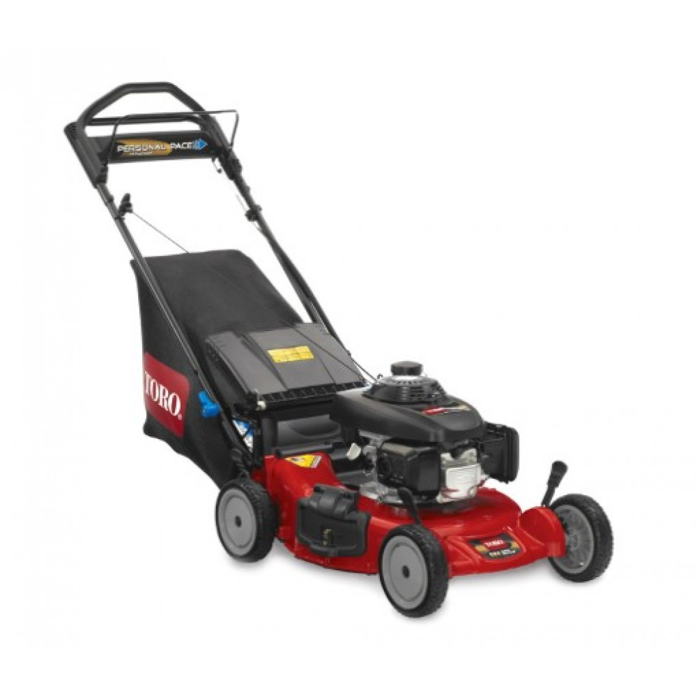 toro super recycler 21 personal pace walk behind lawn mower 20382 mower source