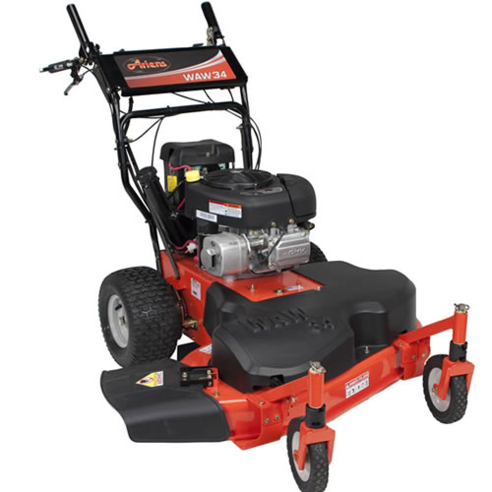 "Self Propelled Cart >> Ariens WAW 34"" Wide Area Walk Behind Self Propelled Lawn Mower 911413 